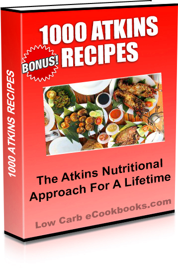 1000 Atkins Recipes