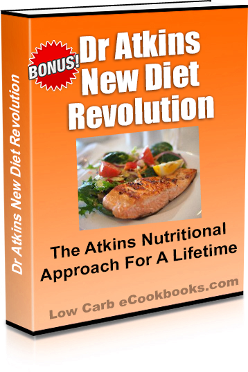 Dr Atkins Diet Revolution Low Carb Diet Plan