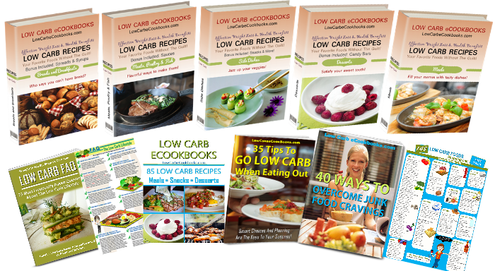 ow carb diet recipe ebooks