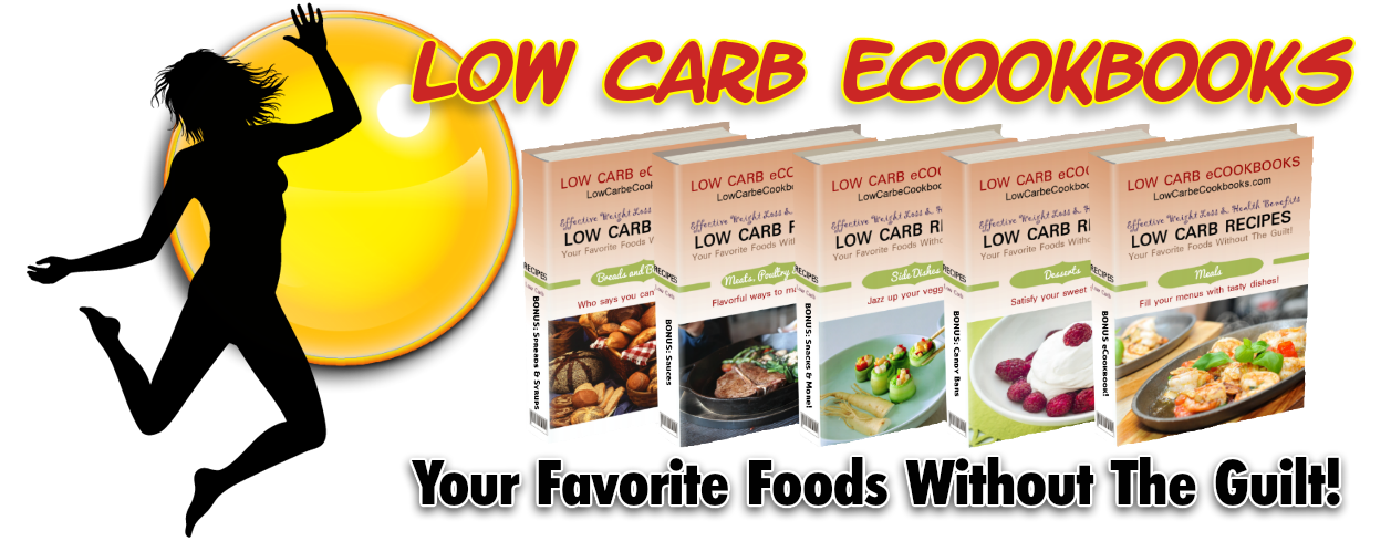 low carb diet recipe ebooks