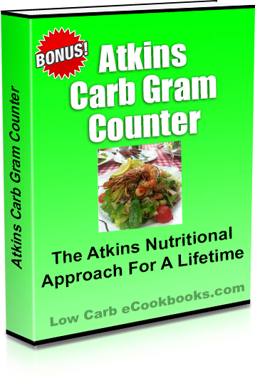 Atkins Carb Gram Counter