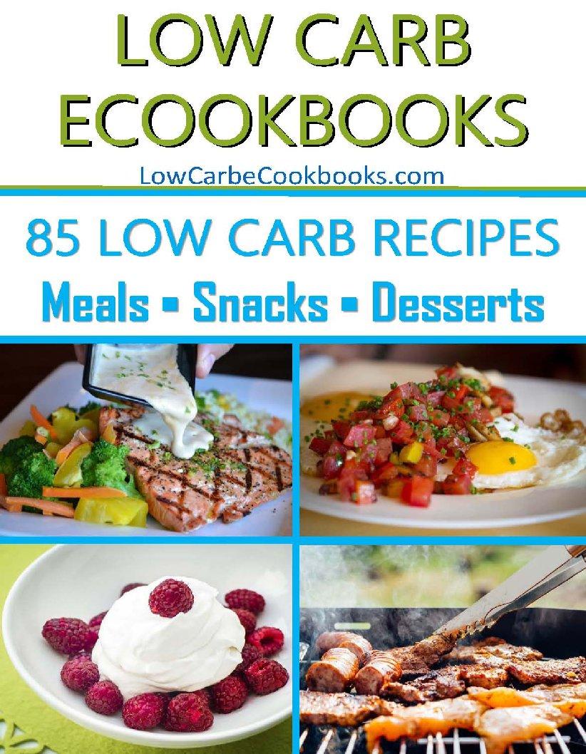 Low Carb eCookbooks Home - Low Carb eCookbooks